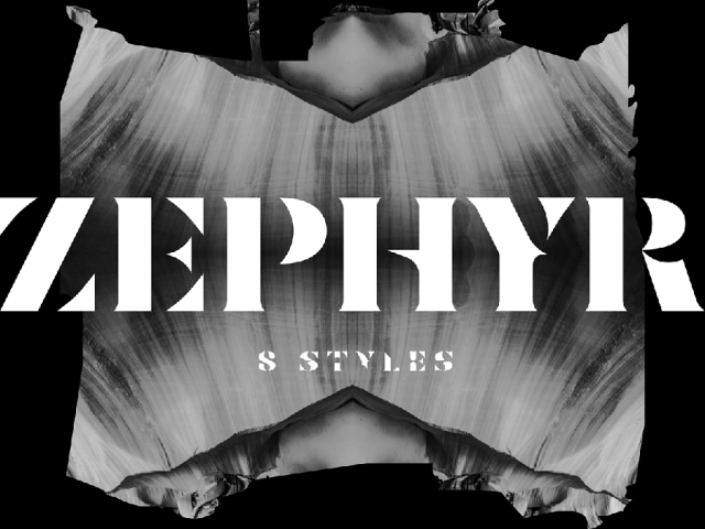 Zephyr - Free Typeface