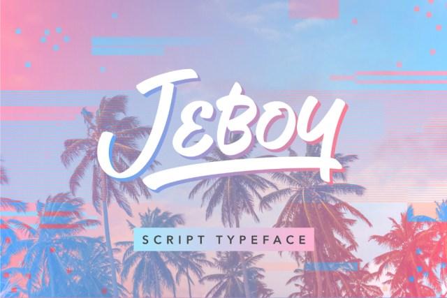 Jeboy Typeface