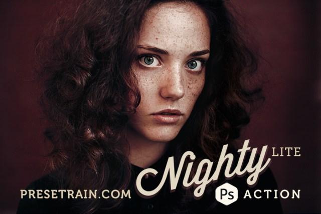 Nighty Lite Photoshop Action
