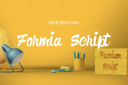 Formia Script Free Font