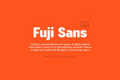 Fuji Font Free Demo