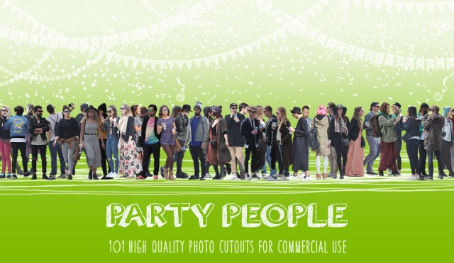Meshroom Photo Cutouts - Party People