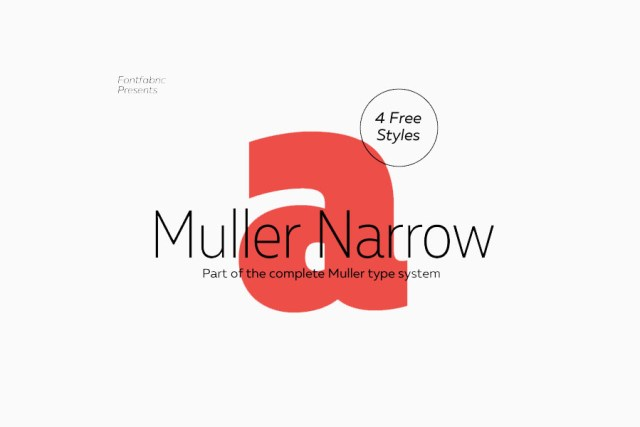 Muller Narrow Free Demo