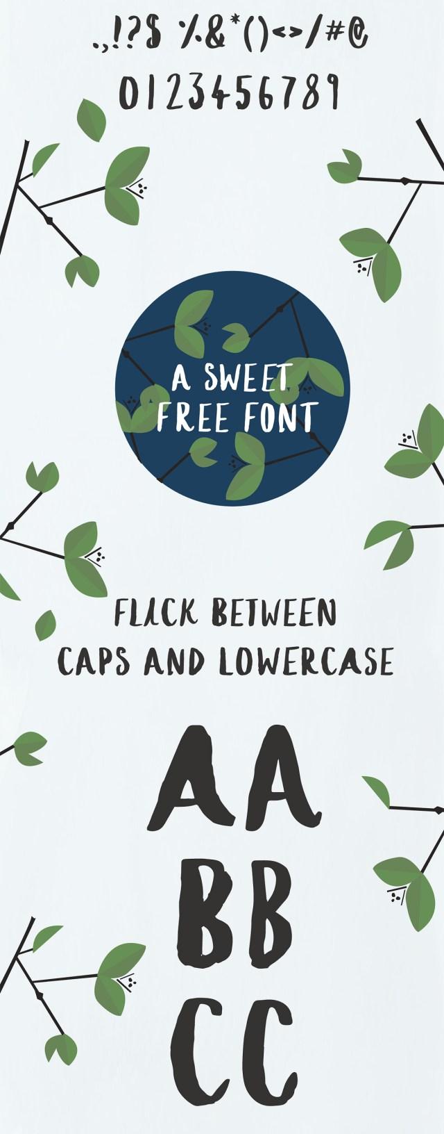 Iced Tea Free Font