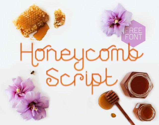 Honeycomb Script Free Display Font