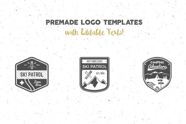 Logo Creation Kit Camping Edition Free Demo_2