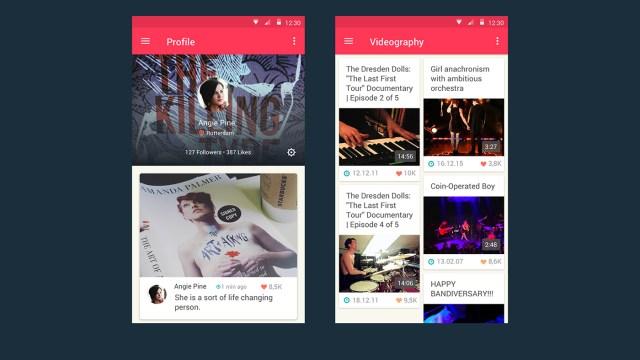 Major Free Android Music App UI Kit