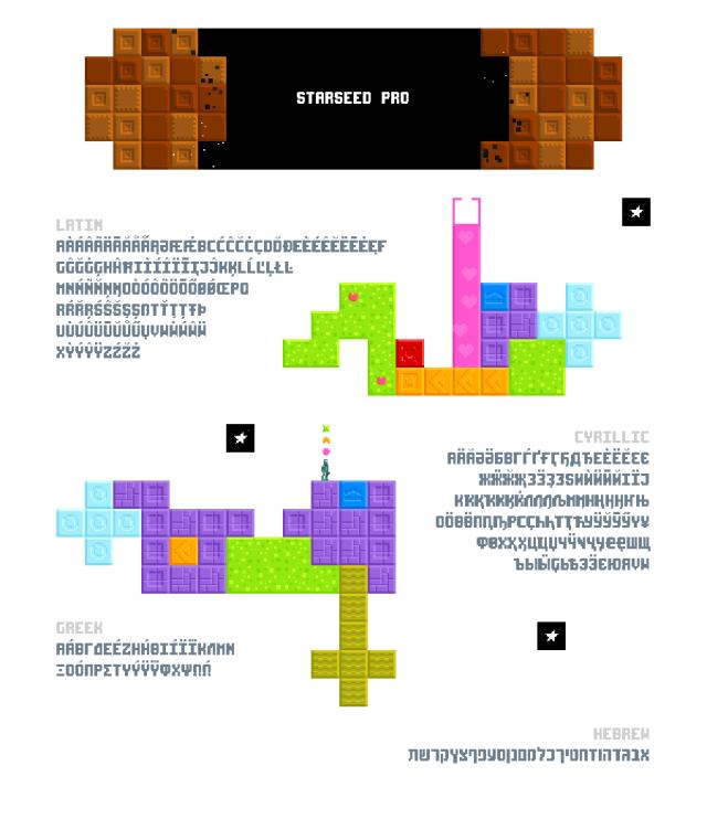 Starseed Pro Free Typeface