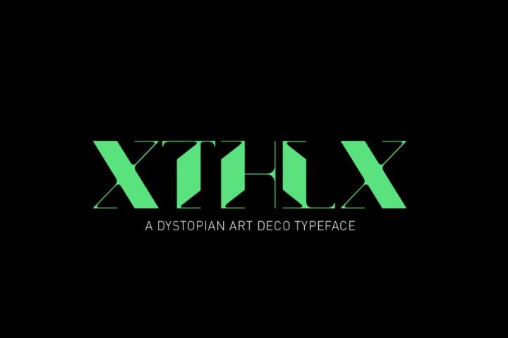 XTHLX Typeface Free Demo