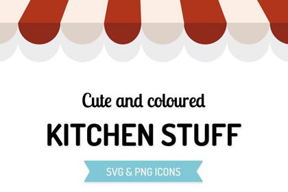 Free Kitchen Stuff Vector Icons