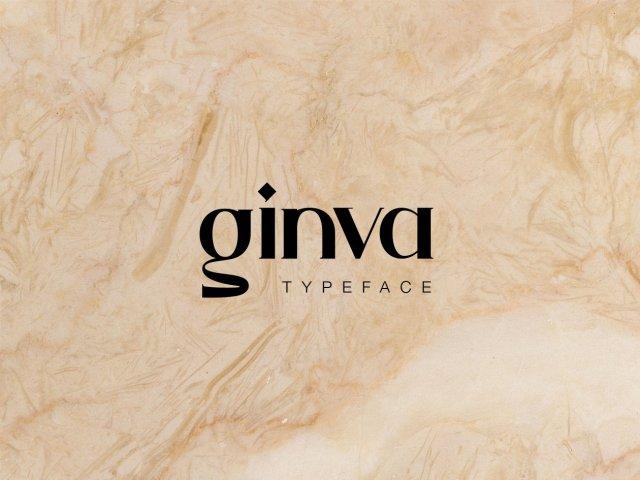 Ginva Serif Free Typeface