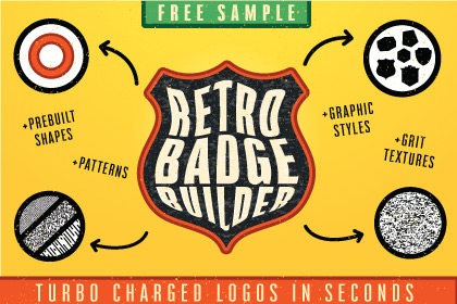 Retro Badge Builder Free Sample