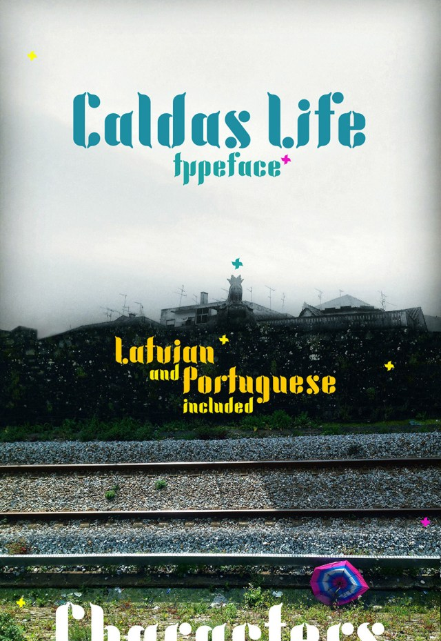 Caldas Life Free Typeface