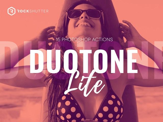 Duotone Lite Free Photoshop Action
