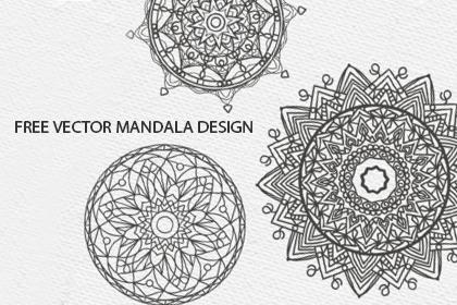 Free Vector Mandala Design