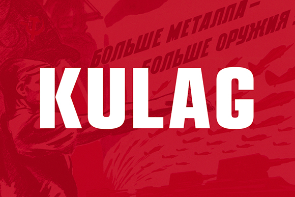 Kulag Free Display Typeface