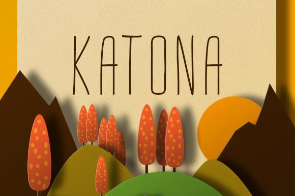 Katona Handwriting Free Font