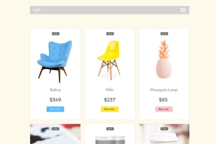 Logic Free eCommerce UI Kit