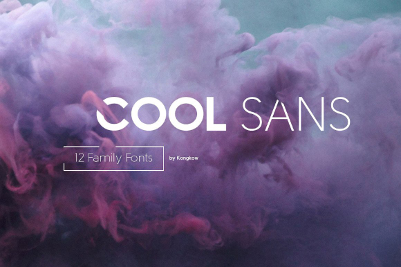 Cool Sans Family Free Demo