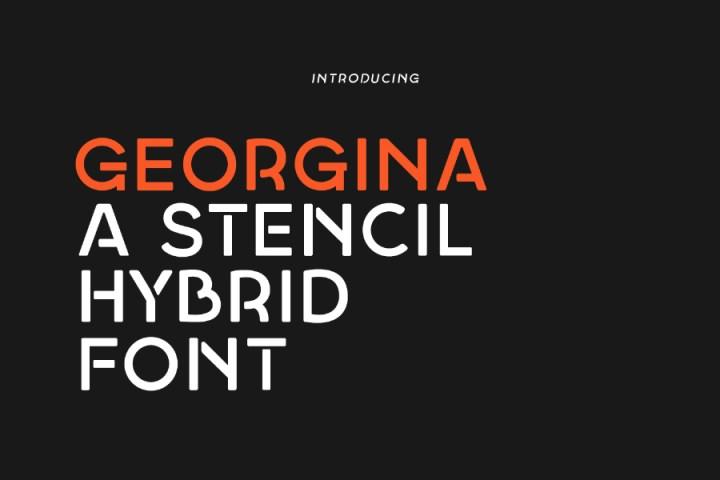 Georgina Regular Free Demo
