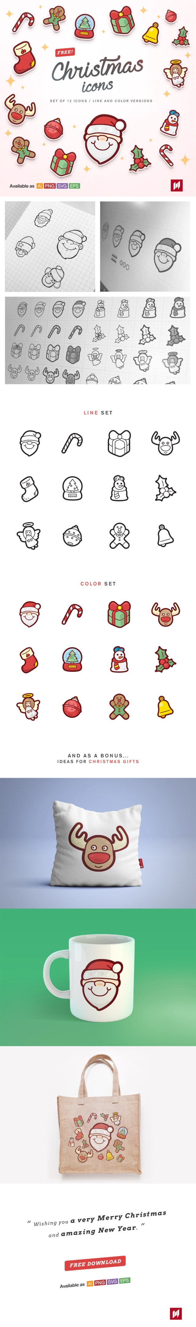 Free Cute Christmas Icons