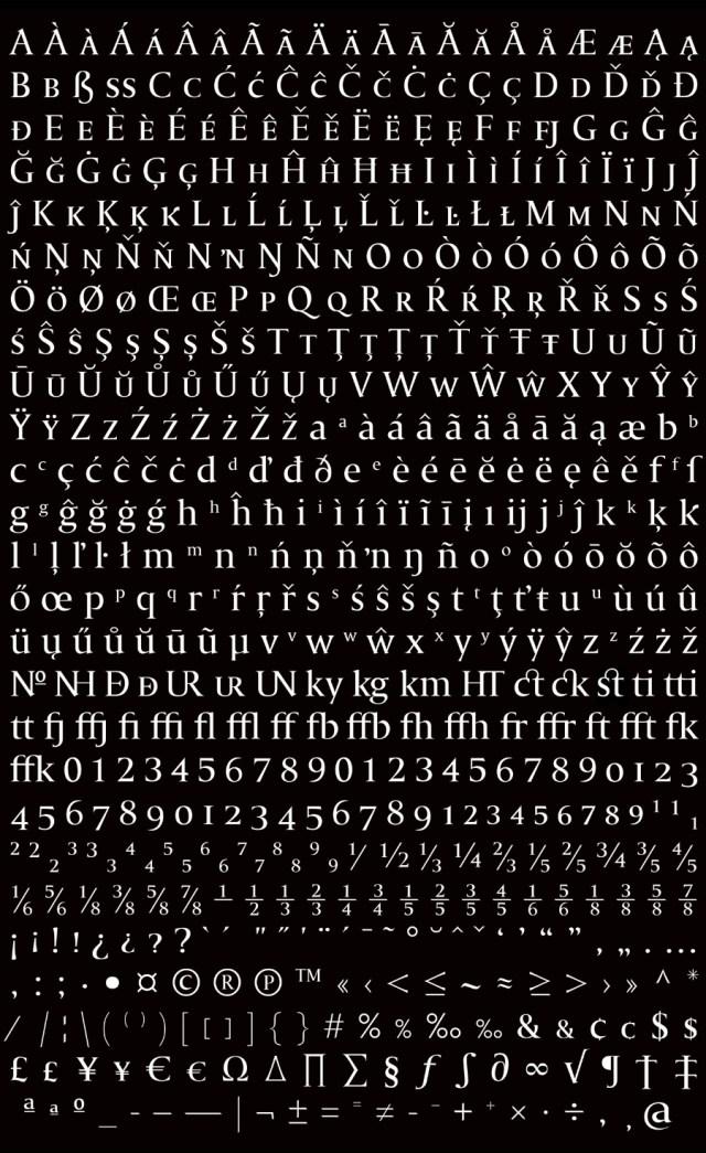 Fea Humanist Serif Free Typeface