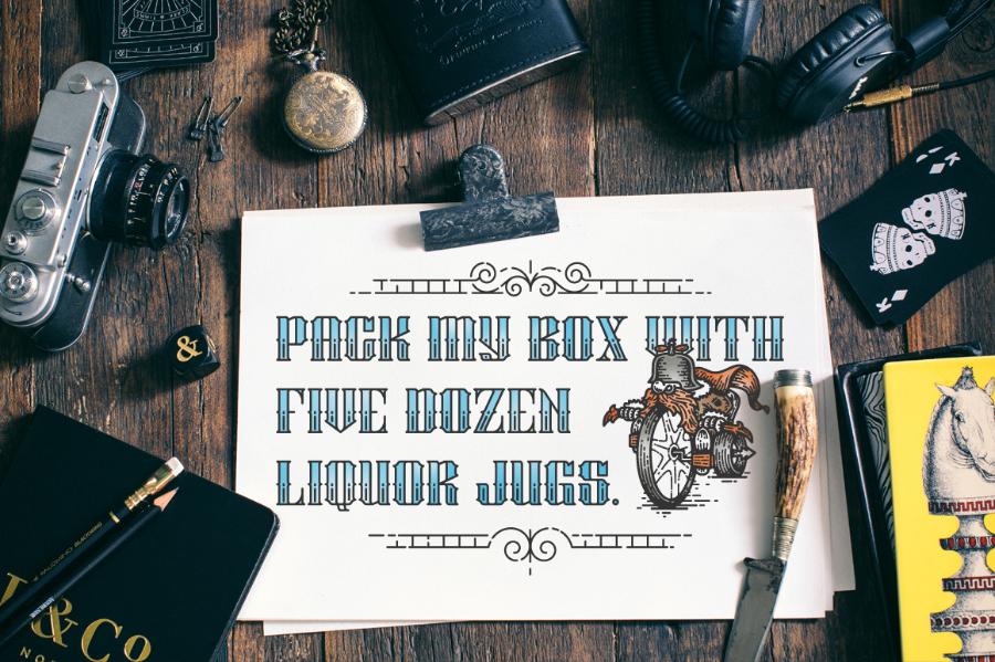 Stalwart Typeface Free Demo Version