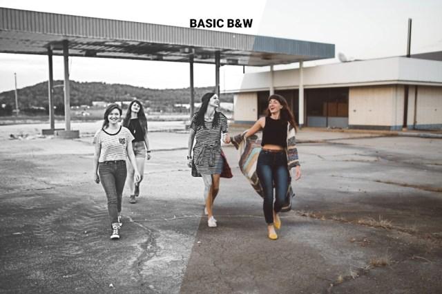 Classy Set Black-White Photoshop Actions