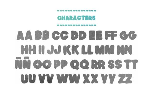 Natsu Handmade Free Typeface