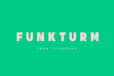 Funkturm Free Typeface