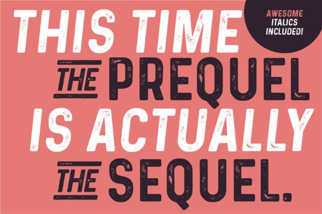 Prequel Typeface Free Demo