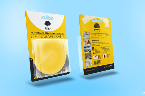 Blister Pack Free PSD Mockup