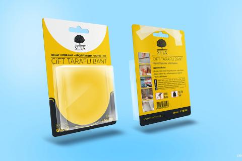 Blister Pack Free PSD Mockup
