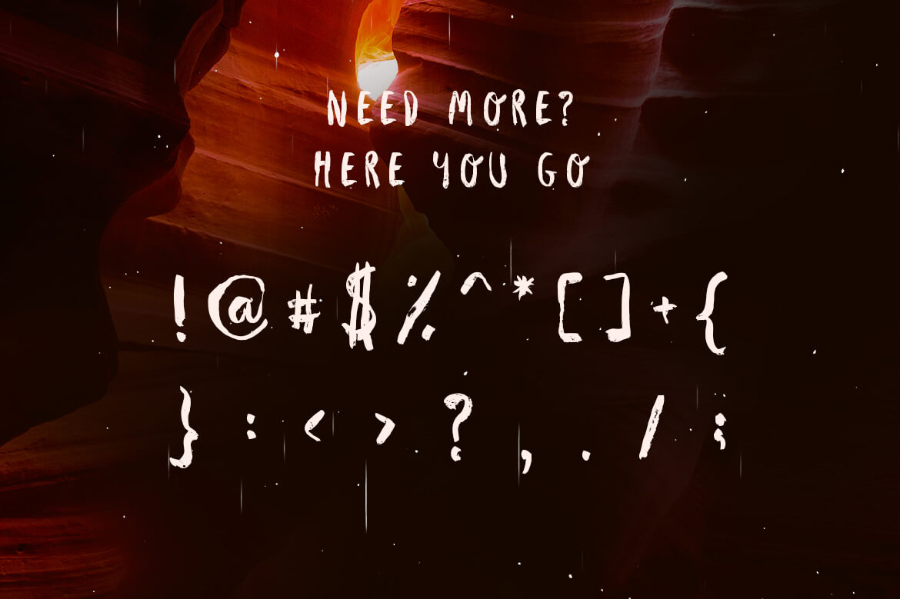 Avene Brush Free Typeface
