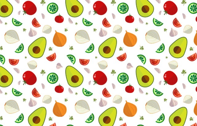 Guacamole Pattern Icon Set