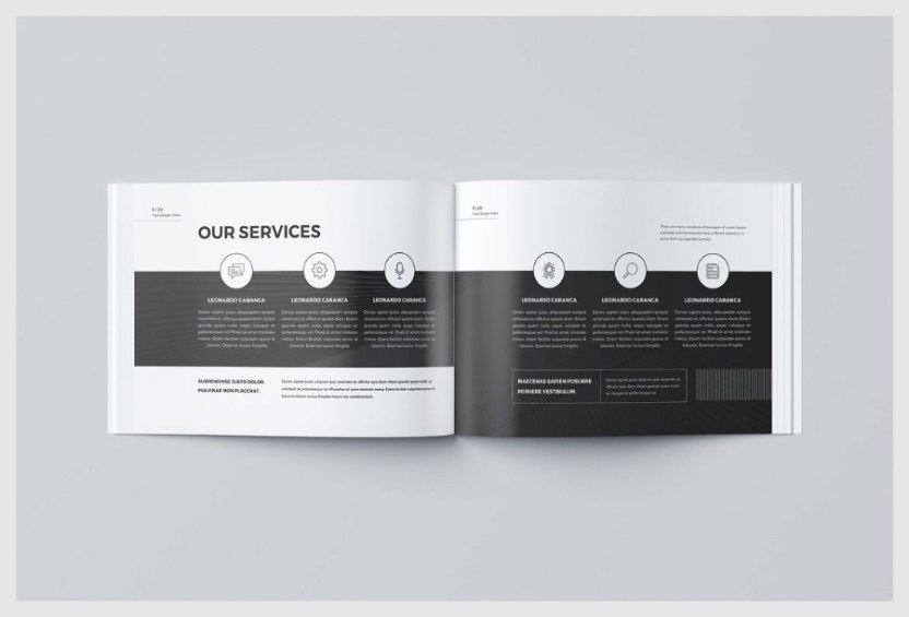 Free Business Brochure Template Free Design Resources