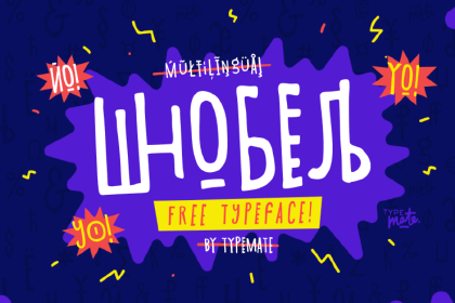 Shnobel Display Free Typeface