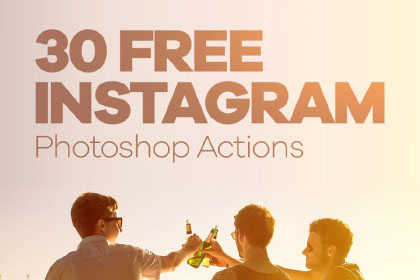 30 free instagram photoshop actions free design resources ccuart Image collections