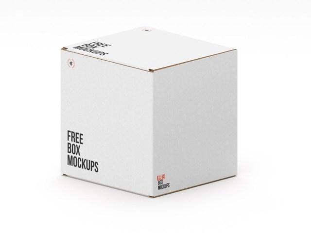 7 free psd box mockups free design resources