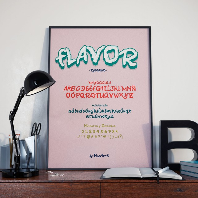 Flavor Free Handmade Typeface