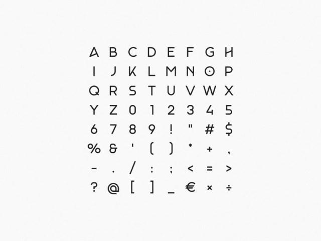 Monad Display Free Typeface