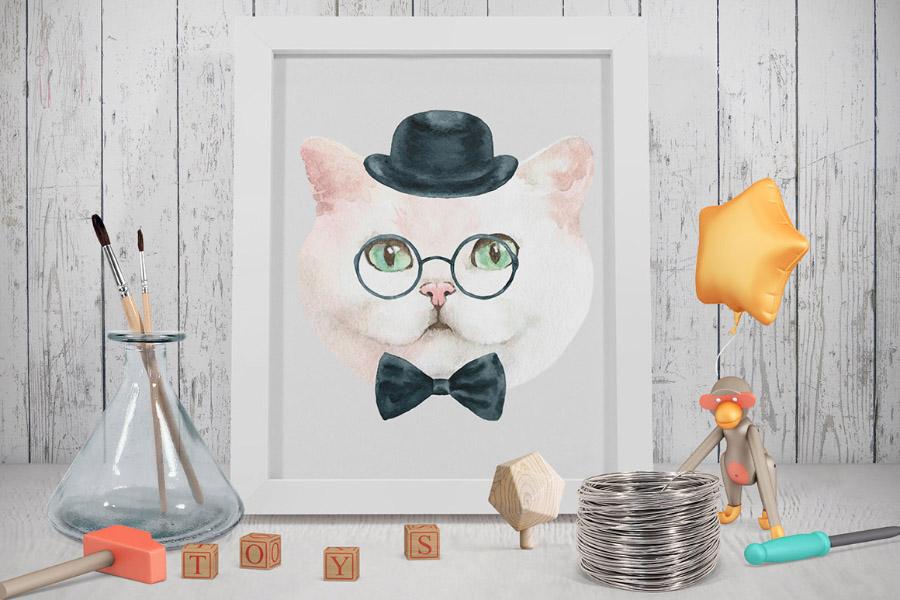 Cats Characters Creator Demo