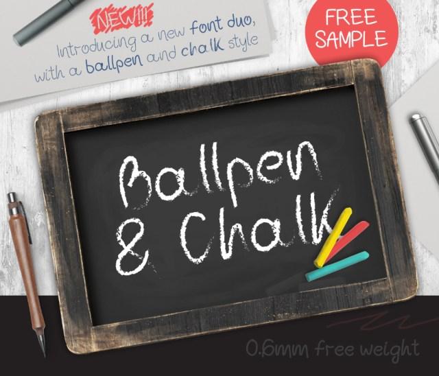 Ballpoint Free Demo Typeface