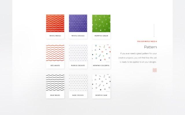 MIKO Free Logo Pattern Stationery Template