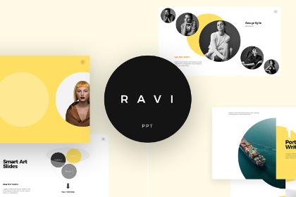 Ravi Presentation Template Free Demo