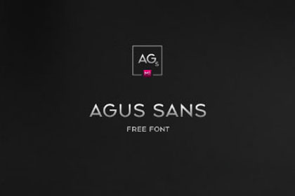 Agus Sans Free Typeface