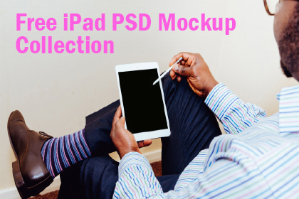 Free iPad PSD Mockup Collection