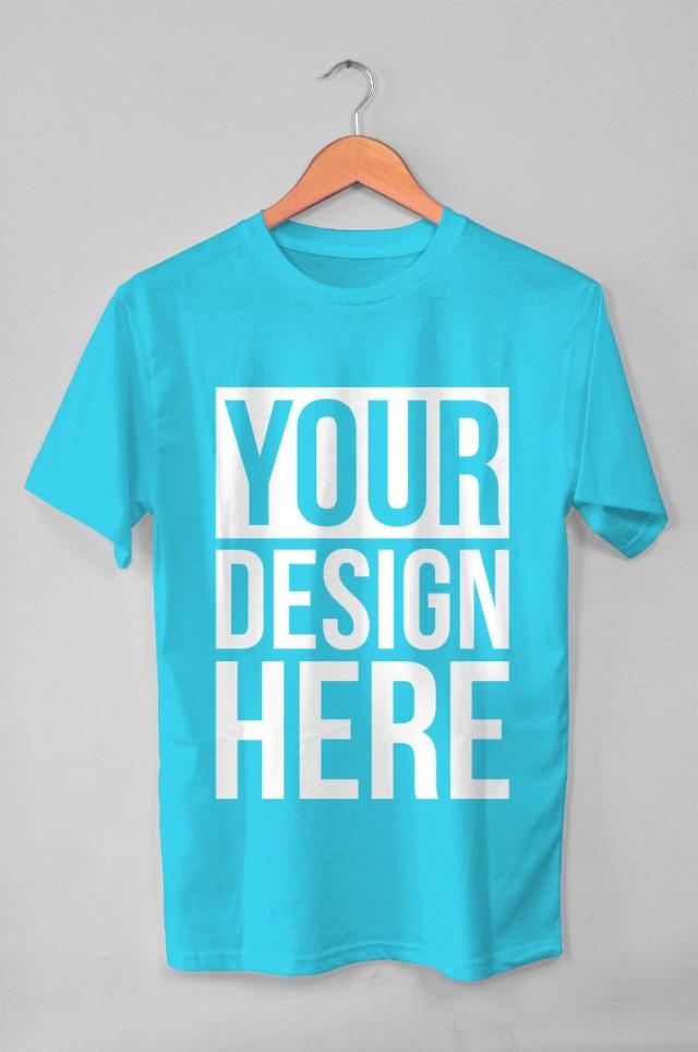 hanging t shirt free mockup free design resources