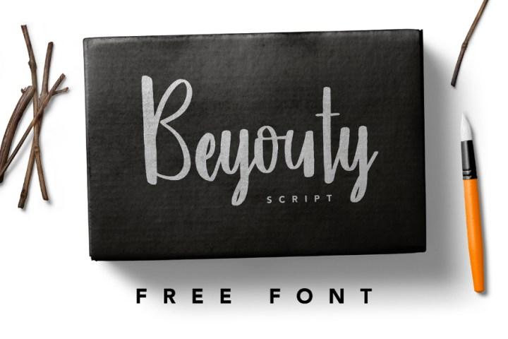 Beyouty Script Free Font
