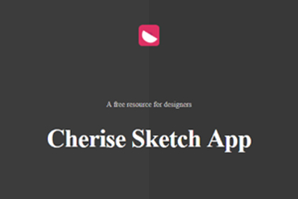 Cherise Free Sketch App UI Kit
